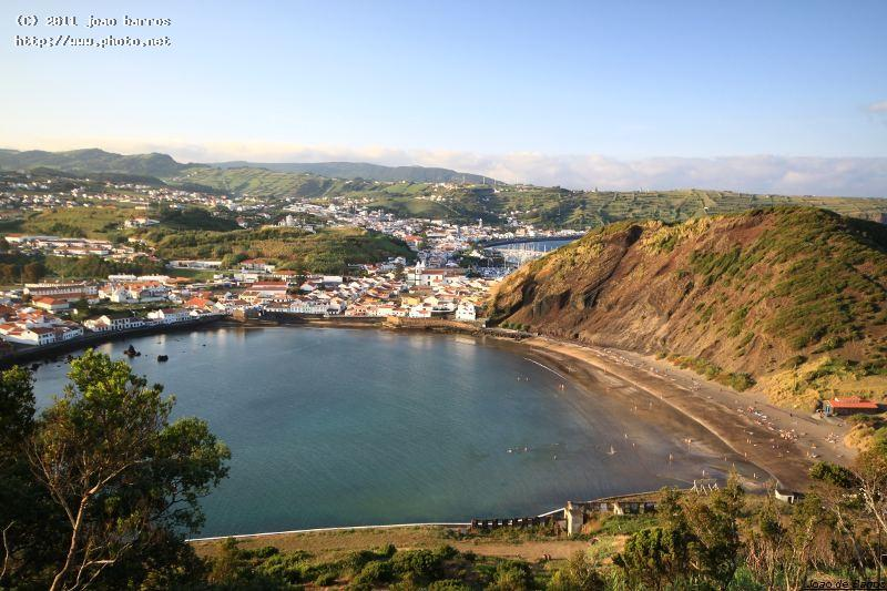 a different view of horta town azores faial barros joao