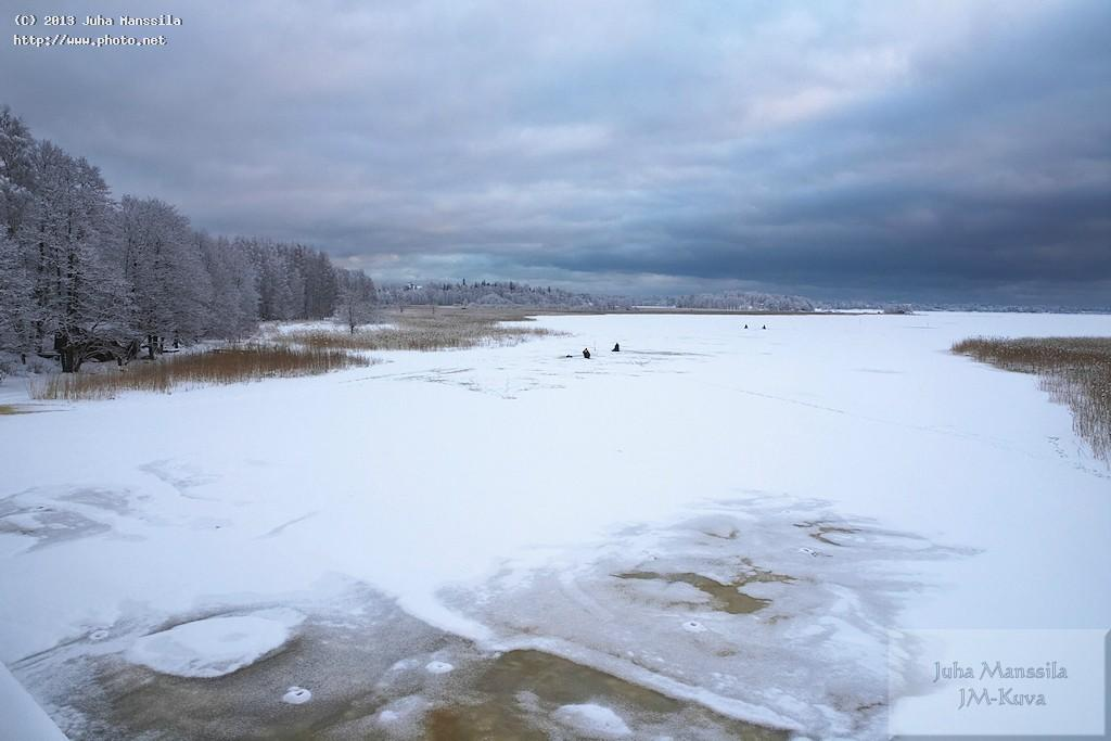 a nature outdoors ice fishing manssila juha