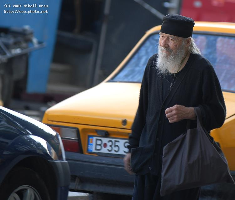 a priestor other religious person on the streets o seeking critique ursu mihail