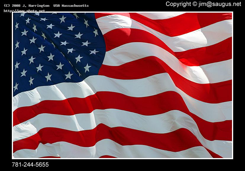 american flag usa close up waving canon eos d mm fl harrington massachusetts j