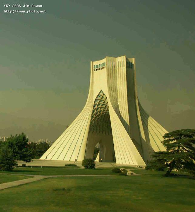 azadi monument tehran celebrates year anniversa seeking critique downs jim