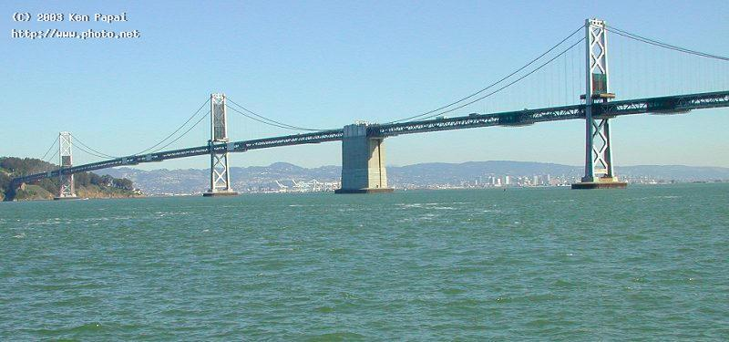 bay bridge to treasure island from sf ferry termin papai ken