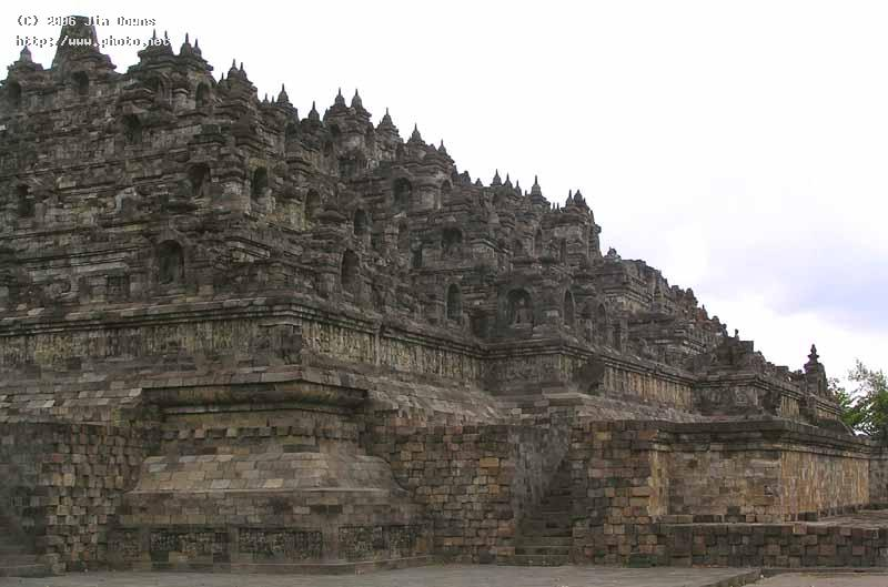 borobudur th to c buddhist temple downs jim