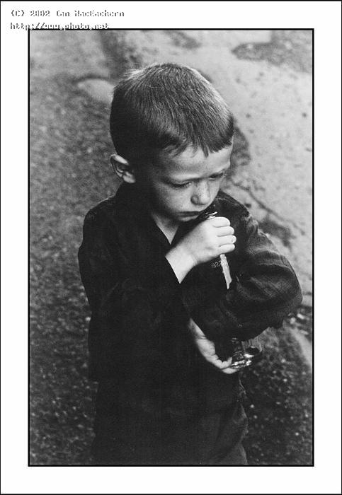 boy with a bottle saint nikon mm f nb kodak tri x pan nik maceachern ian