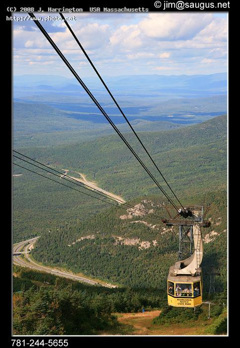 cannon mountain tramway franconia notch state park new hampshire canon d white harrington usa massachusetts j