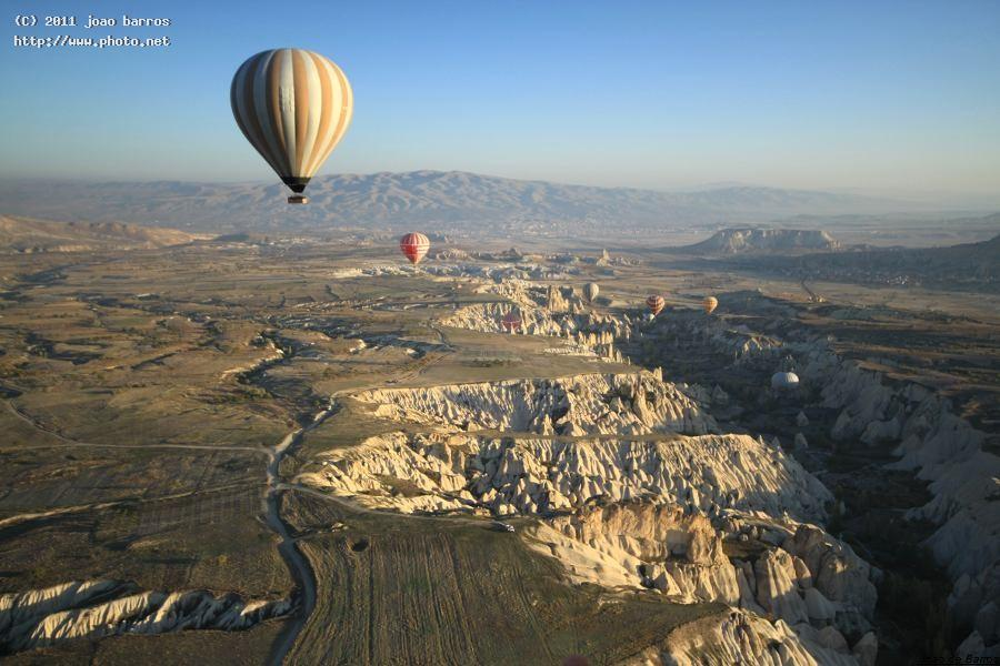 cappadocia turkey travel balloon barros joao
