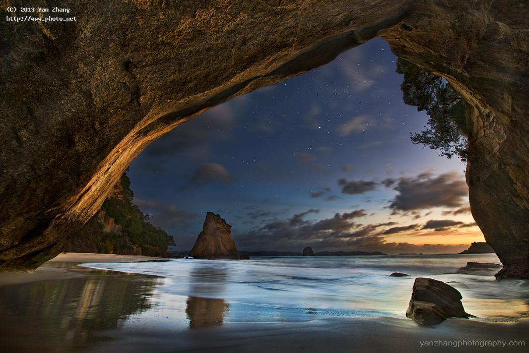 cathedral cove photo of the day august seeking critique zhang yan