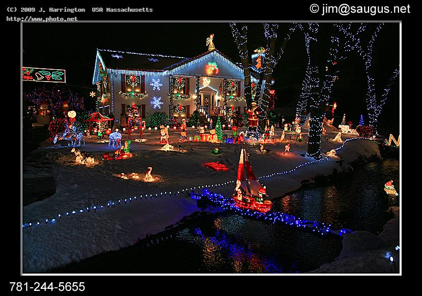 christmas lights saugus ma snow house holiday seek harrington usa massachusetts j