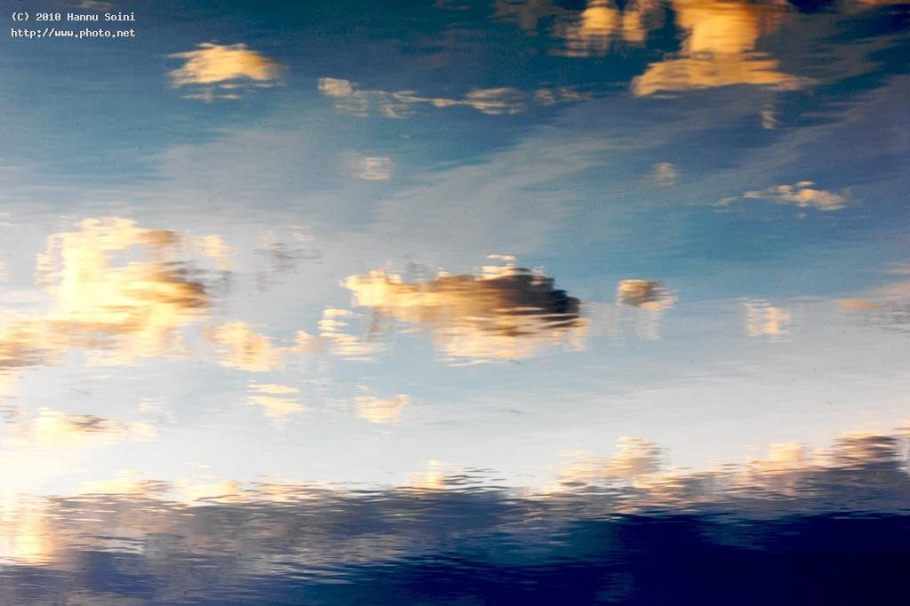 cloudlake reflection clouds seeking critique soini hannu