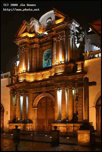 colonial quito on a rainy night sony alpha dslr f downs jim