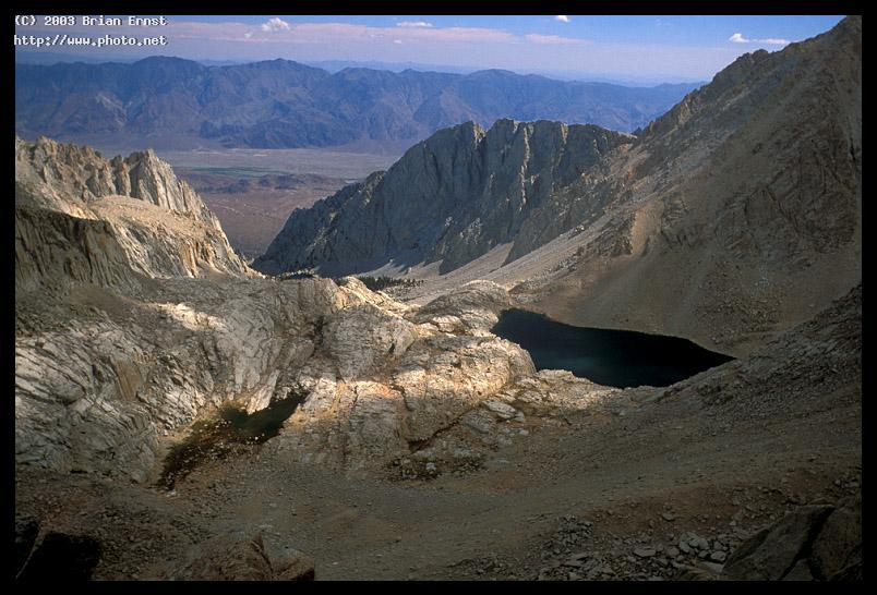 consultation lake and owens valley from mt whitney ernst brian