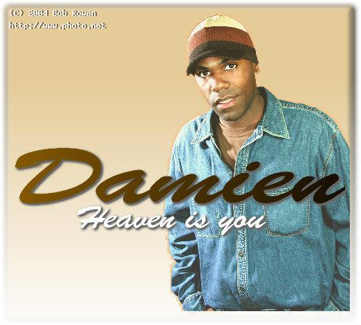 damien cd cover i did for this talented rb music rowen bob