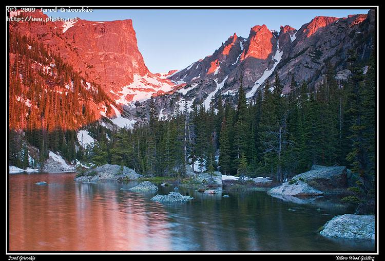 dream lake sunrise gricoskie jared