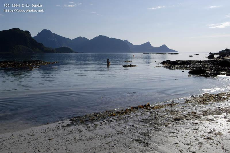 eggum beach on lofoten islands seeking critique dupin eric