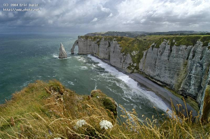 etretat cliff seeking critique dupin eric