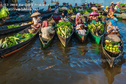 floating market of banjarmasin prakarsa rarindra