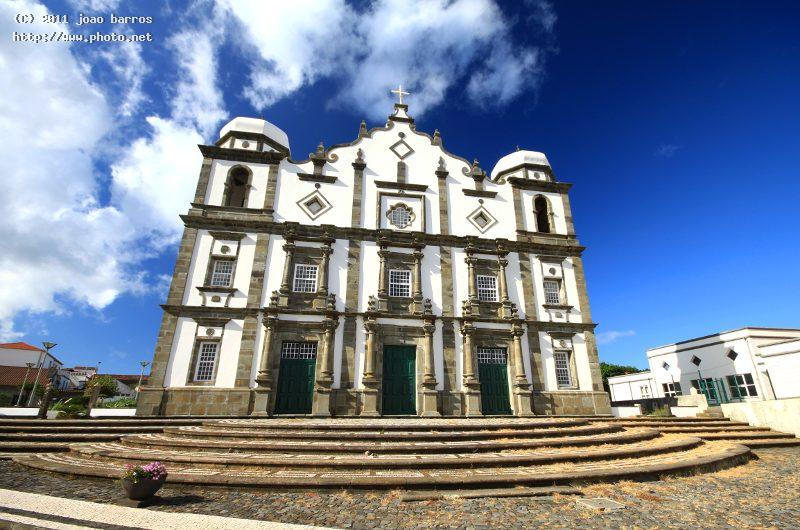 flores island azores church barros joao