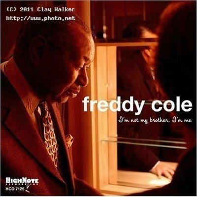 freddy cole im not my brother me cover photo walker clay