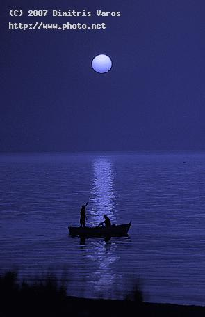 full moon night aegean islands dimitris varos greece evoia dimitri
