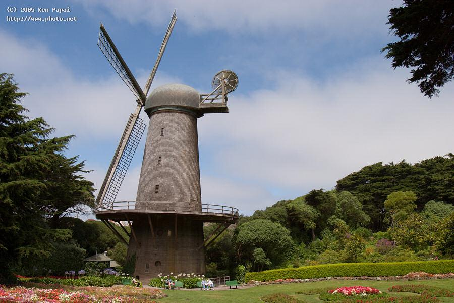 golden gate park dutch windmill papai ken