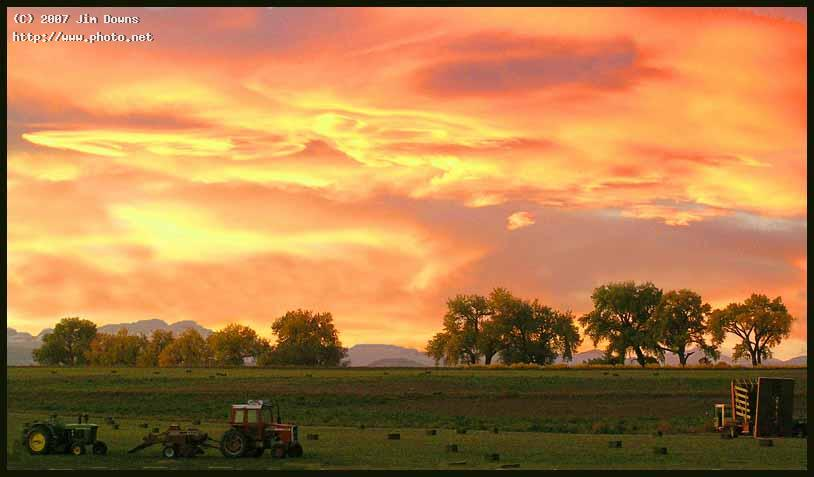 harvest sunset boulder county seeking critique downs jim