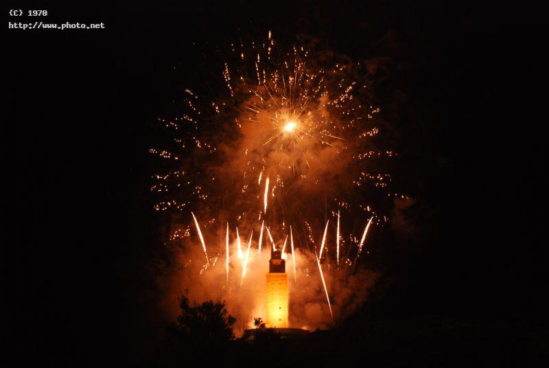 hercules tower a corunna patrimony of the humanity fireworks seeking critique vazquez efren