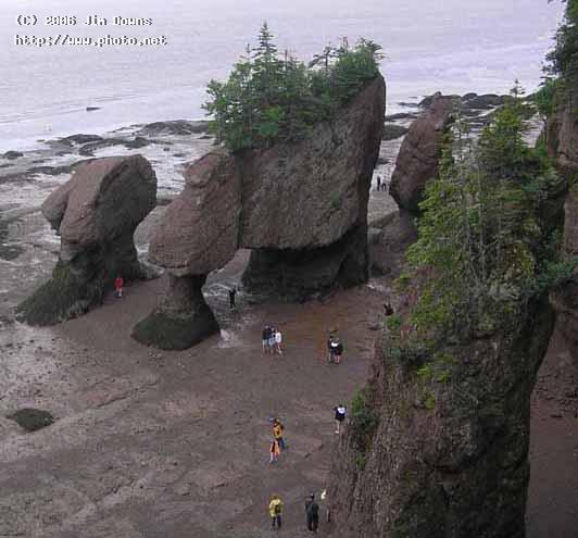 hopewell rocks seeking critique downs jim