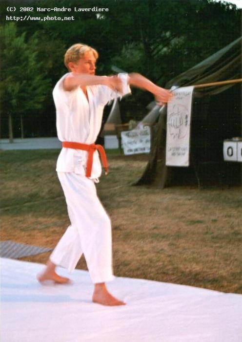 kobujutsu demonstration for the sai laverdiere marc andre