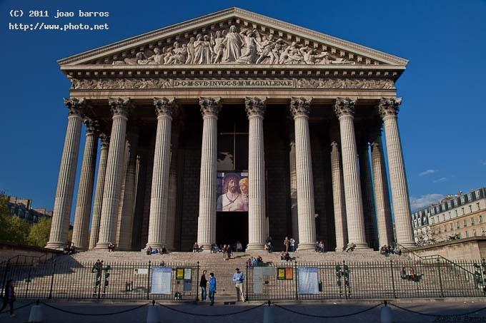 la madeleine church paris architecture barros joao