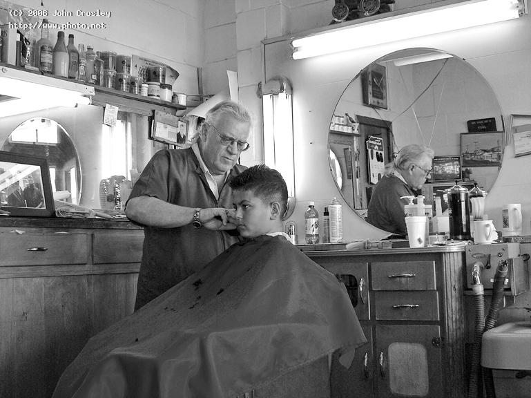 last of the old time barber shops crosley street photography bw seeking critique john