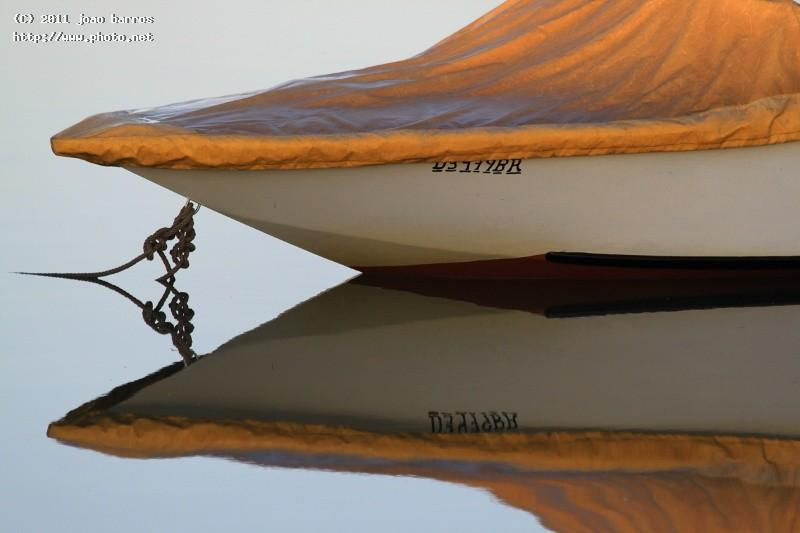 mirror bow maritime boat reflection barros joao