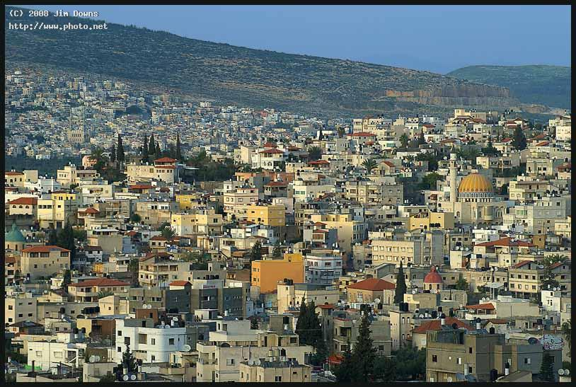 modern day nazareth skyline sony alpha dslr a f naz downs jim