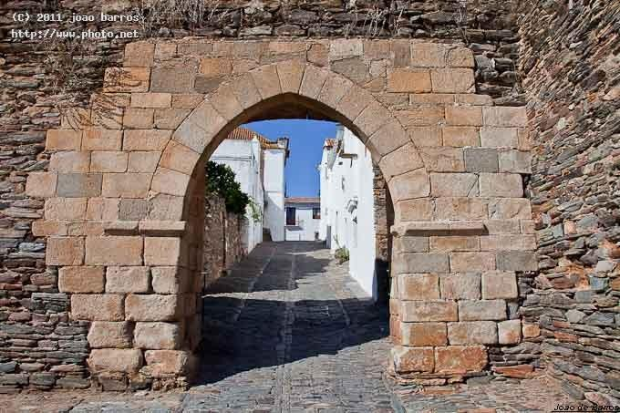 monsaraz alentejo architecture door village wall barros joao