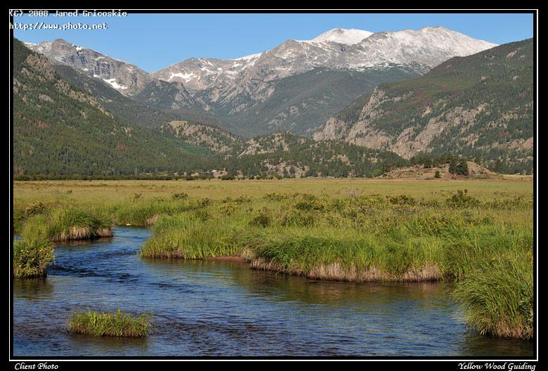 moraine park along the big thompson by debbie petc petcher mountain rocky mo gricoskie jared