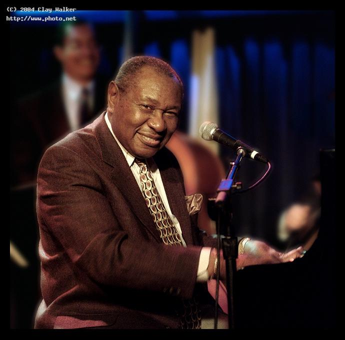 mr freddy cole at the blue note jazz club walker clay