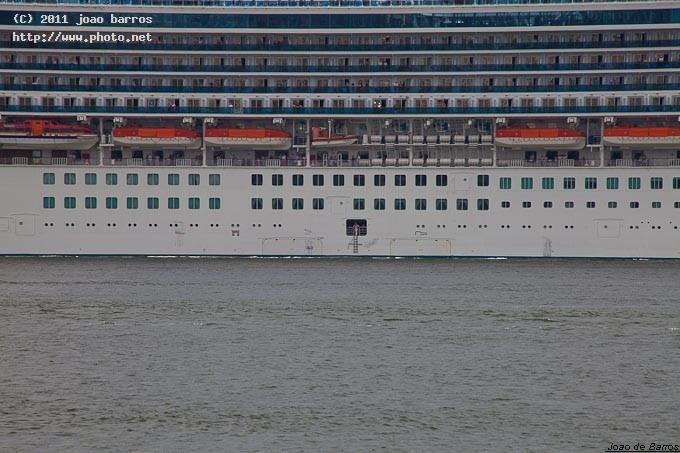ms grand princess waiting for the harbour pilot maritime cruiser ship vessel travel barros joao