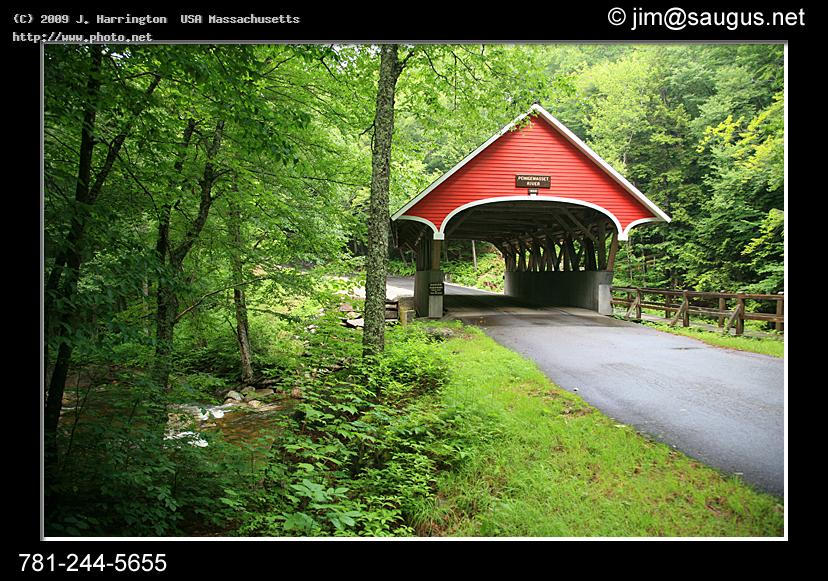 new hampshire covered bridge pemigewasset river scenic photo bridhe seeking harrington usa massachusetts j