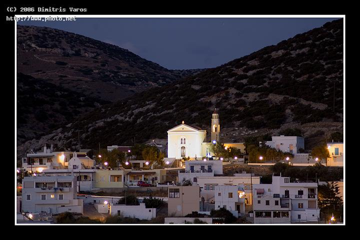 night in galissa samos syros chios santorini islands greek greece v varos dimitris