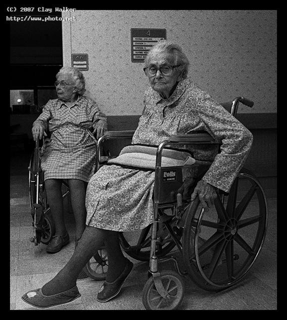 nursing home walker clay