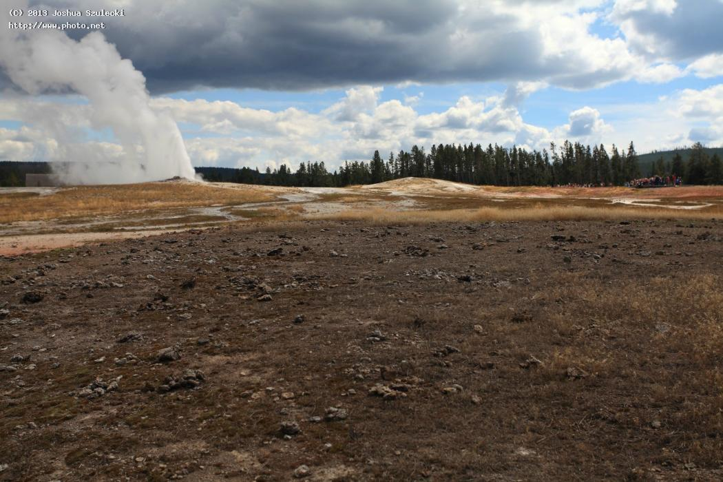 old faithful upper geyser basin yellowstone na szulecki joshua