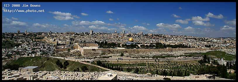 old jerusalem panorama larger view sony downs jim