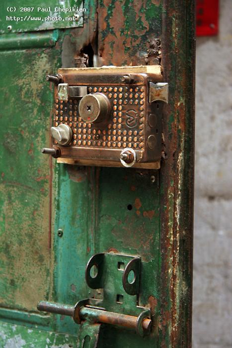 one of many locks on doors in china seeking critique chepikian paul