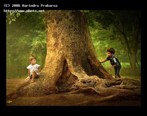 peek a boo children farmer kid indonesia islam happiness java prakarsa rarindra