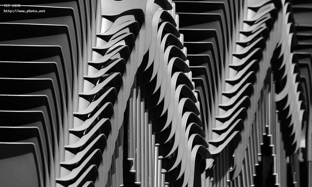 piled up chairs black abstract white bw seeking critique vazquez efren