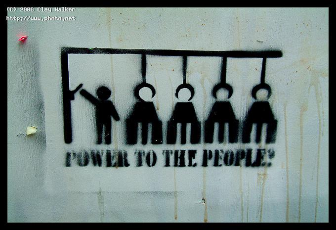power to the people walker clay