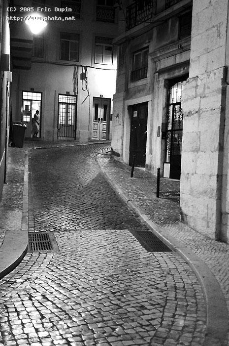 quite street near the center of lisboa seeking critique dupin eric