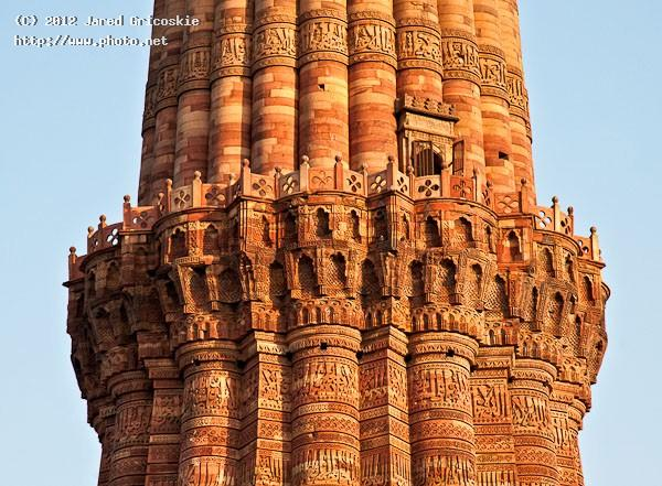 qutb minars up close gricoskie jared