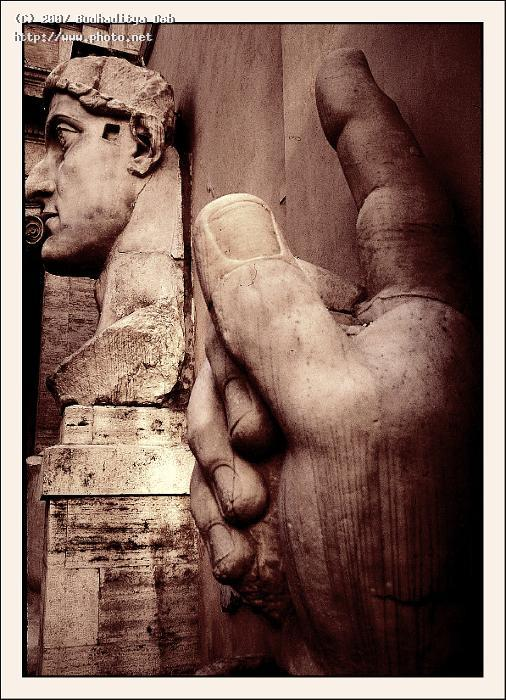 remains of the giant statue constantine rome th seeking critique deb budhaditya