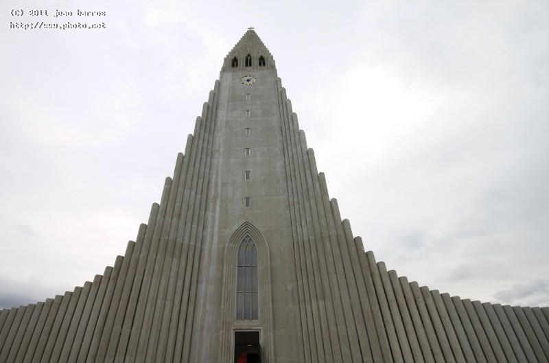 reykjavik cathedral architecture church iceland barros joao