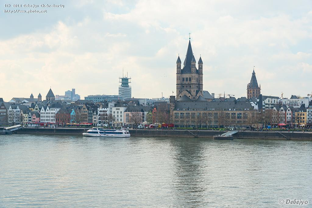 river rhine and old town cologne chakraborty debejyo